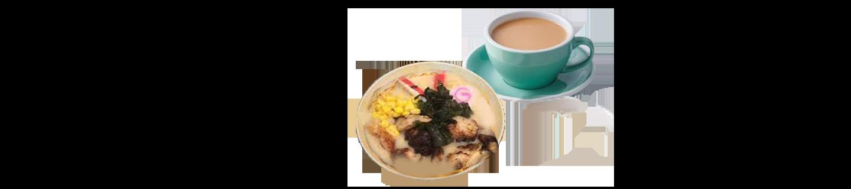 雞扒豬骨湯拉麵(茶)