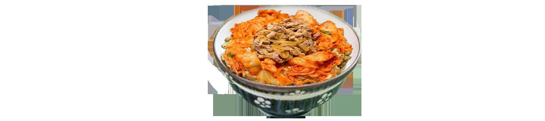 韓式泡菜牛肉丼(夜)