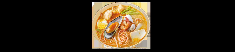 海鮮喇沙湯米粉(午)