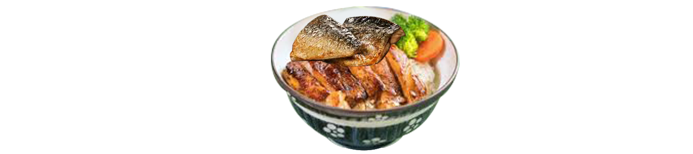 照燒鯖魚配雞扒丼(夜)