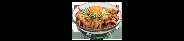 溫泉蛋豚肉丼(夜)